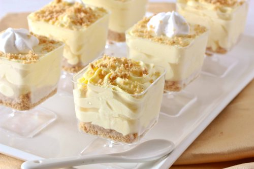 lemon cheesecake mousse 1
