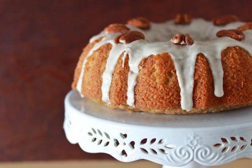 maple sour cream bundt cake 1