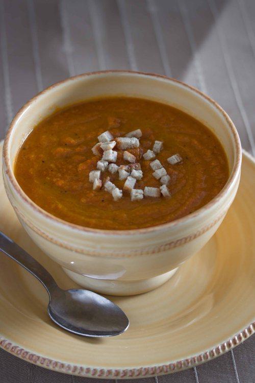 carrot ginger soup 3