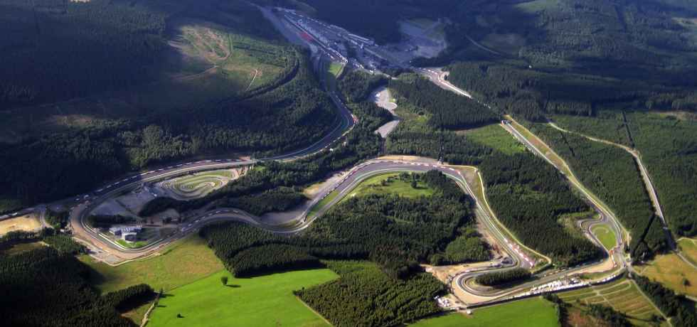 The stage is set for the Belgium GP at Spa-Francorchamps
