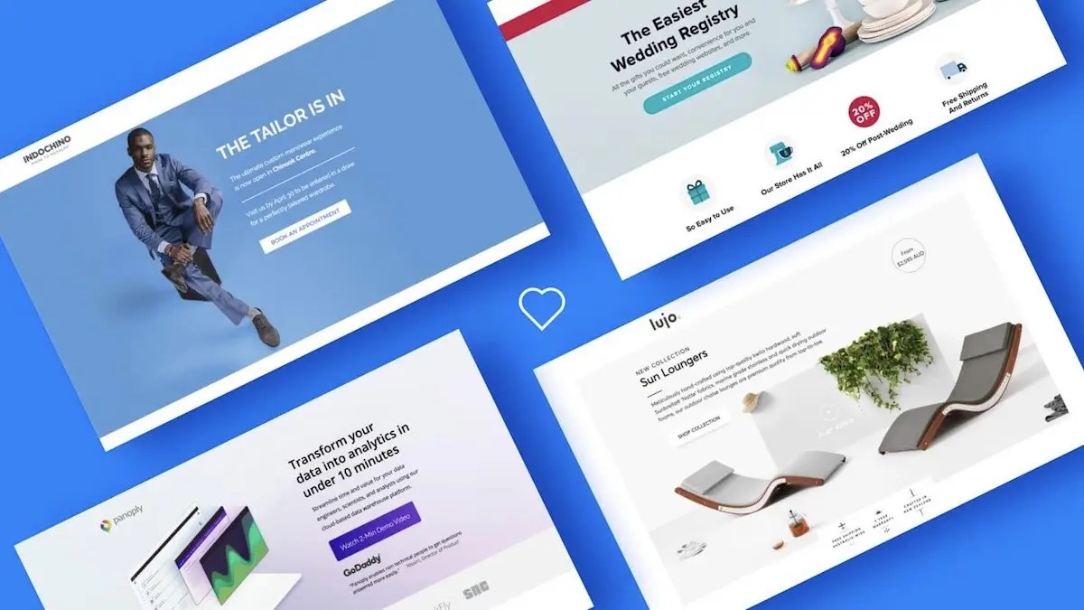 best performing landing pages
