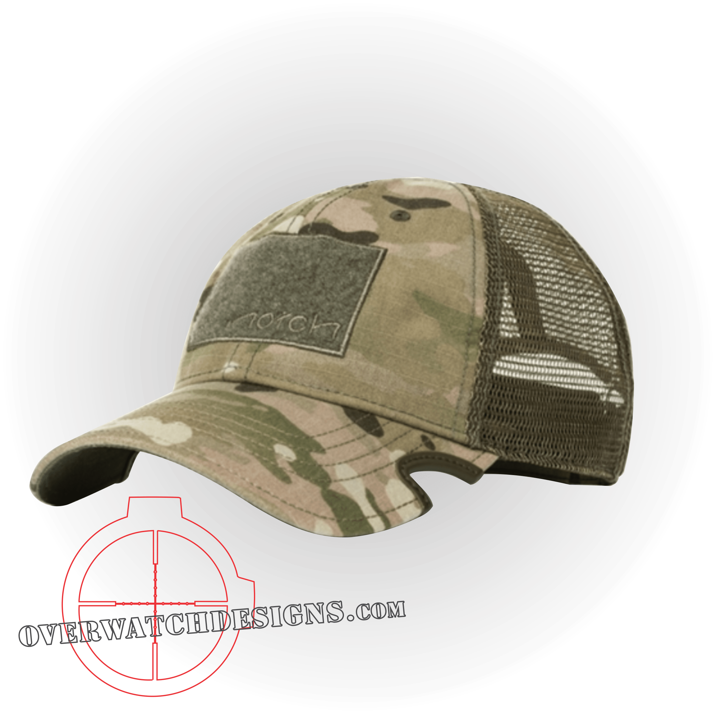 Multicam Notch Hat - Overwatch Designs 3e9acb72136