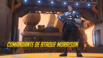 Visual Comandante de Ataque Morrison