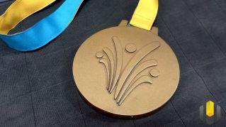 Medalha de Overwatch temática dos Jogos de Verão