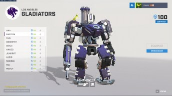 Bastion - Los Angeles Gladiators