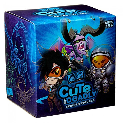 Cute But Deadly Series 2 Vinyl Figure Blind Box Contains 1 Random Figure From Overwatch Diablo