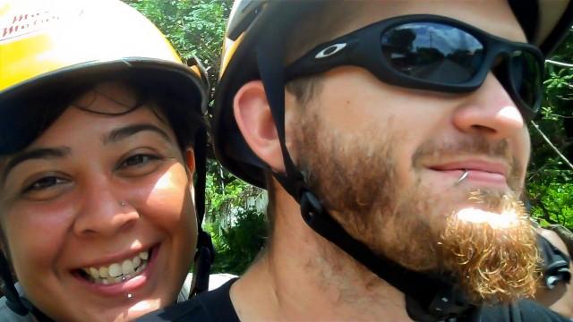 Motorcycle on Ometepe