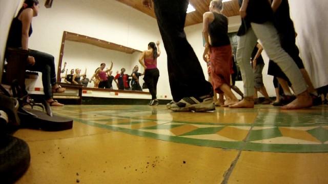 Salsa dancing in Cali