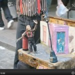 Video: Puppeteer Performance in San Telmo, Buenos Aires