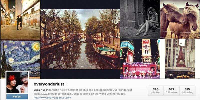 OverYonderlust Instagram
