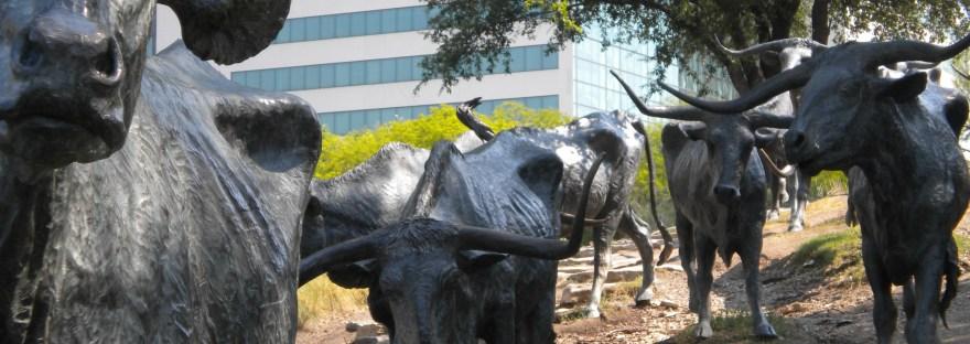 Pioneer Plaza in Dallas
