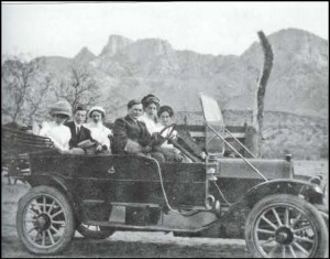 Pusch Family at the Ranch, circa 1900s