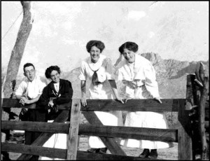Pusch family at the Ranch, early 1900s