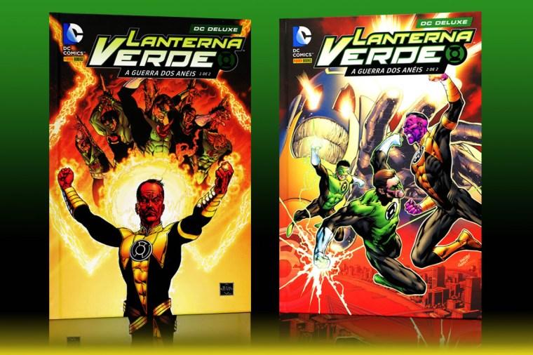 Panini confirma reimpressão de Lanterna Verde: A Guerra dos Anéis ...