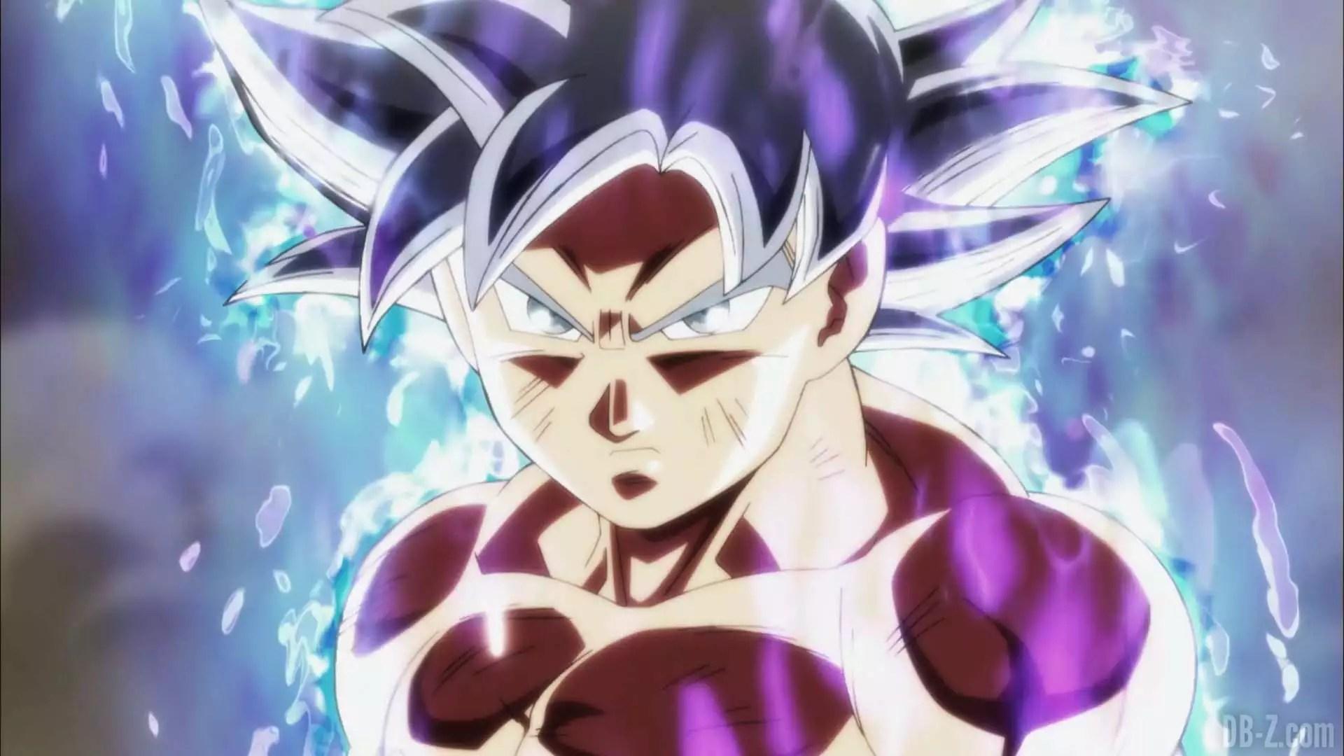 Dragon Ball Super Incrvel Figura De Goku Com Instinto