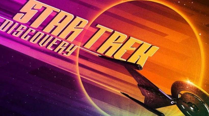 Sendo Um Dos Destaques Do Canal Na San Diego Comic Con Onde Ganhou Inclusive Outro Trailer Oficial Star Trek Discovery Acaba De Ter Novo Cartaz