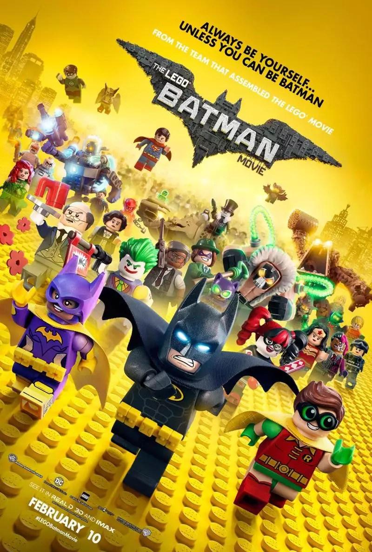 Resultado de imagem para LEGO BATMAN: O FILME poster