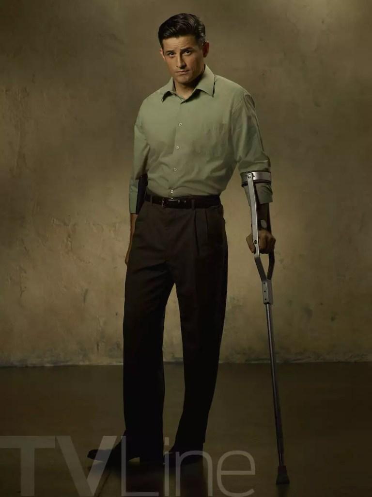 "MARVEL'S AGENT CARTER - ABC's ""Marvel's Agent Carter"" stars Enver Gjokaj as Chief Daniel Sousa. (ABC/Bob D'Amico)"