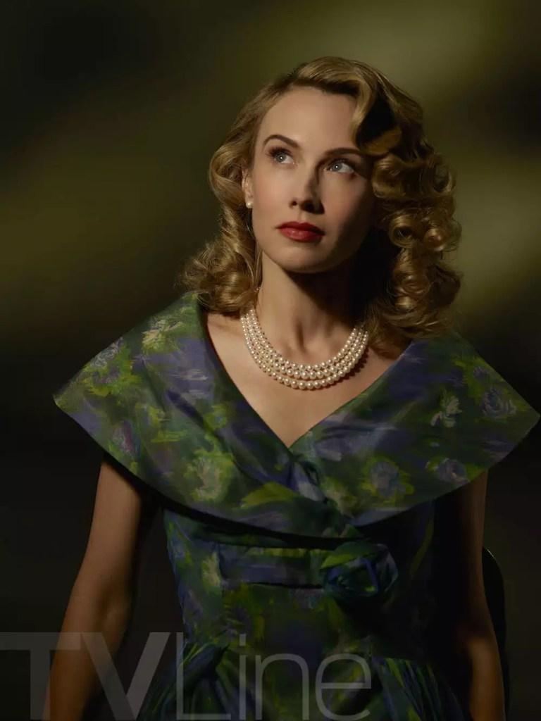 """MARVEL'S AGENT CARTER - ABC's """"Marvel's Agent Carter"""" stars Wynn Everett as Whitney Frost. (ABC/Bob D'Amico)"""