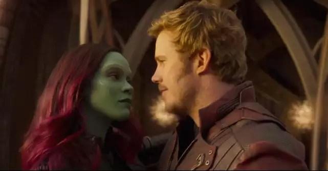Resultado de imagem para Peter Quill e Gamora