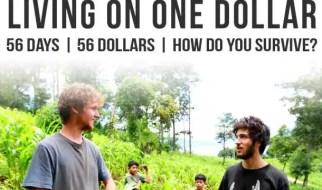 living on one dollar - traind cu un dolar