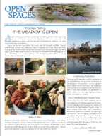 Open Spaces Newsletter – Summer 2008 (PDF)