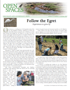 Open Spaces Newsletter – Summer 2007 (PDF)