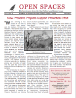 Open Spaces Newsletter – Fall 2002 (PDF)