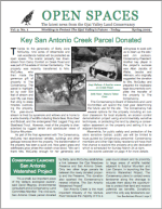 Open Spaces Newsletter – Spring 2002 (PDF)