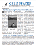 Open Spaces Newsletter – Summer 2001 (PDF)