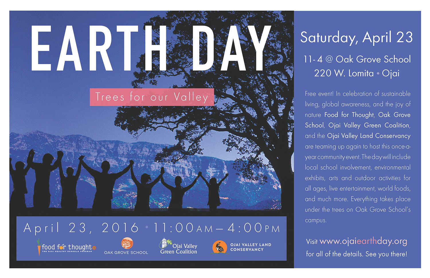 2016 Earth Day Poster