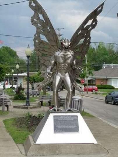 Point Pleasant - EUA e o Homem Mariposa (Mothman) 1