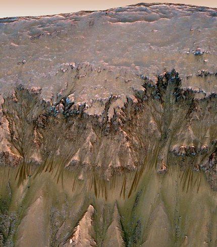 Marte contém oxigênio suficiente para suportar a vida 2
