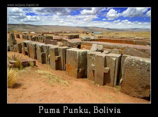 Arqueólogos encontram câmara subterrânea em Puma Punku 1