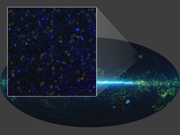 Milhões de buracos negros são encontrados por telescópio da NASA 2