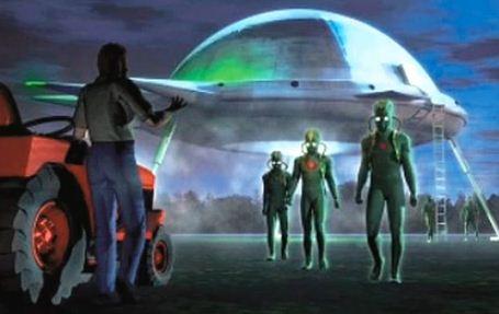 alienígenas retornarão somente quando ficarmos mais amigáveis