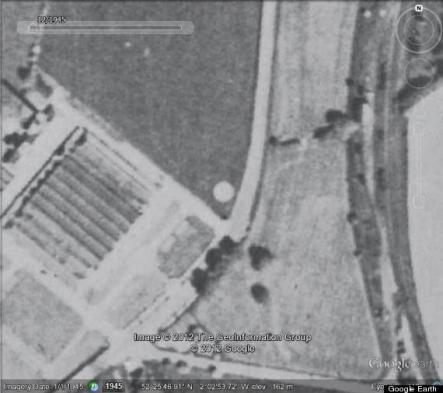 Foto de agroglifo de 1945