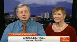 Charles Hall e esposa.