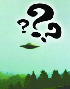 UFO question marks