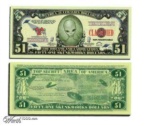 OVNI dinheiro