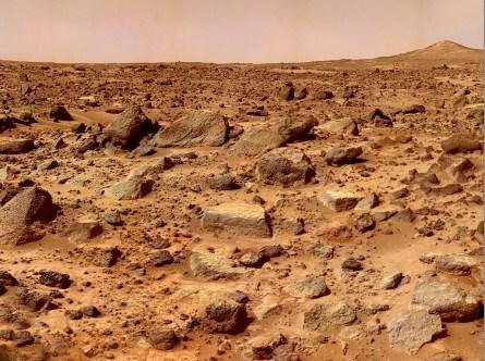 ET em Marte