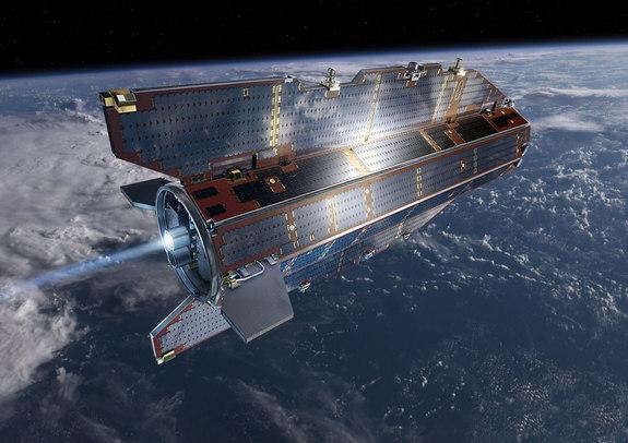 O Satélite GOCE vai despencar do céu, mas ainda ninguém sabe onde.
