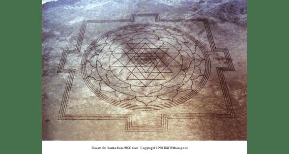 O pictograma tem 400 metros de largura e 21 quilômetros de linhas.