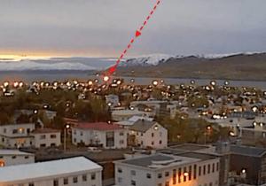 OVNI desce em cidade da Islândia