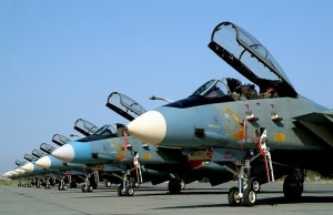 Jatos da Força Aérea Iraniana.