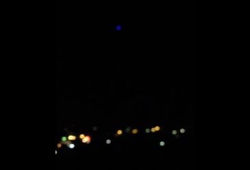 OVNI azul sobre Belmont, Austrália