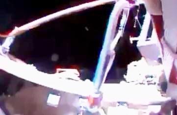 OVNI próximo da Estação Espacial
