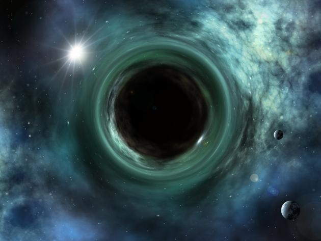 buraco negro no núcleo da Terra