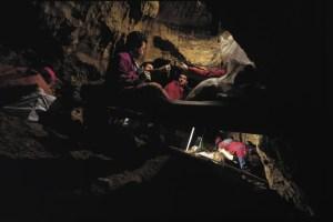 Sítio arqueológico, Sima de Los Huesos, onde foram encontrados os ossos do hominídeo de 400.000 anos.