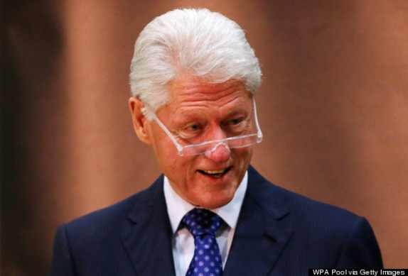 Bill Clinton, ex-Presidente dos Estados Unidos.